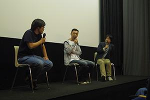岩淵弘樹×カンパニー松尾×九龍ジョーが映画『モッシュピット』を語る